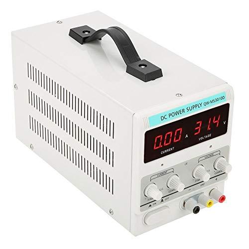 Labornetzgerät, DC30V 10A 300W Einstellbar Stromversorgung, Stabilisiert Digitalanzeige Labornetzteil