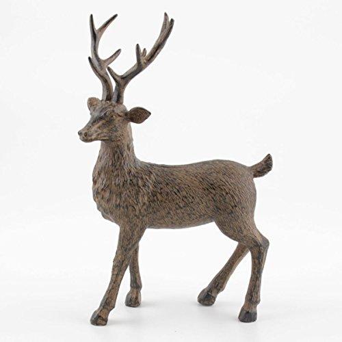 Kwoka hert staand bruin ca. 20 cm H | KW-259085-020-706 | 4049767374326