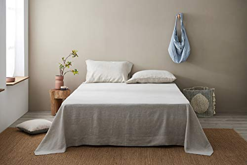 DAPU Pure Stone Washed Linen Sheets Set