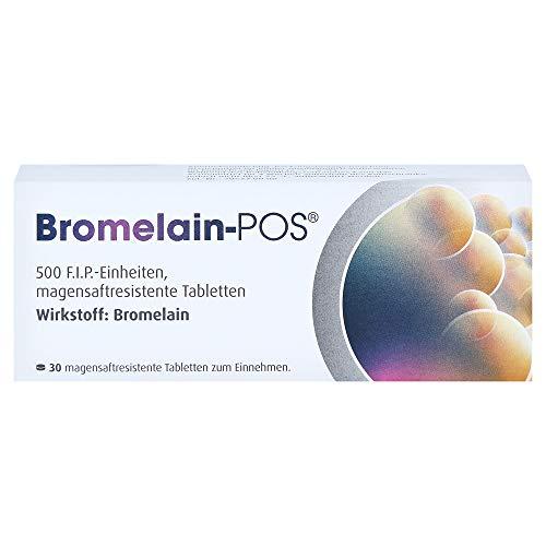 Bromelain POS magensaftresistente Tabletten,30St