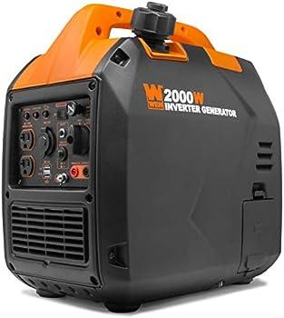 WEN 56203i Super Quiet 2000-Watt Portable Inverter Generato