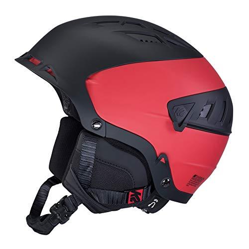 K2 Skis Diversion S-10D4000.4.2 S - Casco da sci/snowboard, taglia S, colore: Nero/Rosso