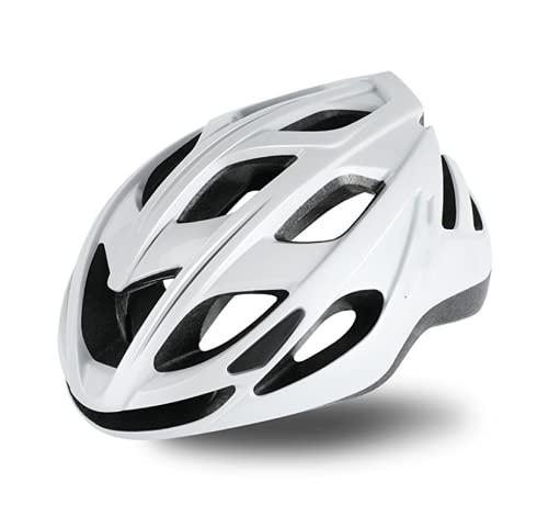 Casco de Bicicleta Casco de Ciclismo Casco Bicicleta Adulto Montaña Visera y Forro Desmontable Cascos Bicicleta Carretera para Hombres Mujeres Adultos (54-61 CM)