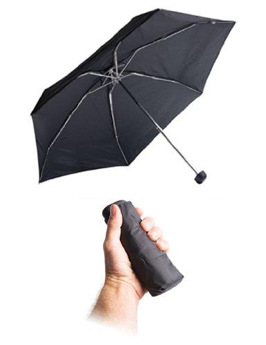 Sea To Summit Parapluie de poche unisexe, noir, 150 g
