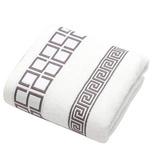 YHWW Toalla de baño,Nuevo Juego de Toallas de Lujo 3pcs / Lot 100% algodón con 2 toallitas faciales1 Juego de Toallas de baño para baños de Invitados Familiares Gimnasio, Negro