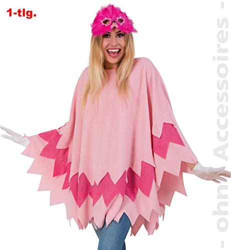 FRIES Flamingo Vogel Damen Kostüm Vogelkostüm Damenkostüm