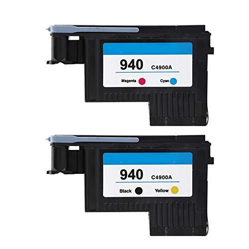 Estink Druckkopf, Hochwertiger Drucker Druckköpfe, für 940 C4900A C4901A für 8000 8500 Series(CMYK)