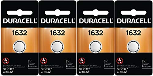 2 X 4 Pcs Fresh Duracell Lithium Battery ECR1632 CR1632 DL 1632 3V Batteries