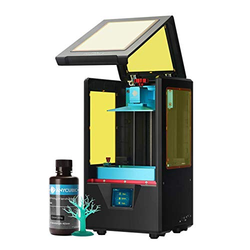 ANYCUBIC 3D Printer, Photon S UV LCD Resin Printer with Dual Z-axis Linear Rail and Air Filtering System, 2K Screen & Off-line Printing, 115mm(L) X 65mm(W) X 165mm(H) Printing Size