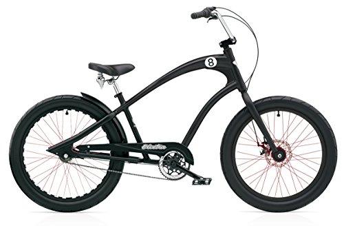 ELECTRA BICYCLE CO. STRAIGHT 8 8i Fahrrad black satin