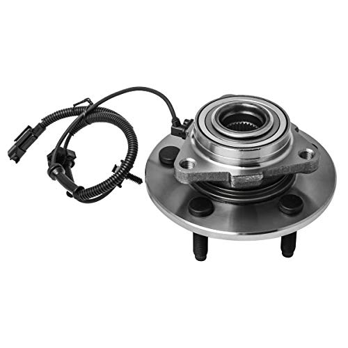 Price comparison product image Front Wheel Hub and Bearing Assembly Left or Right Compatible 2006-2009 Dodge Ram 1500 AUQDD 515113 [ 5 Lug W / ABS TO 12 / 07 / 08 ]