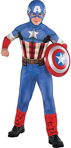 Captain america girl halloween costume _image1