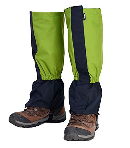 Black Temptation Randonnée/Escalade/Camping/Ski Chaussures Gaiter pour Adultes- Vert