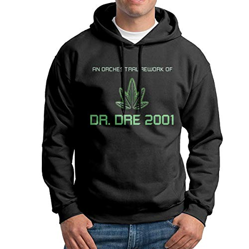 Uoliicoze Herren Classic Dr DRE 2001 Design Sweatshirts L.
