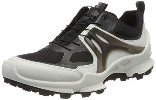 Ecco Herren BIOMC-TRAILM Sneaker, Weiß (White/Black 51227), 45 EU