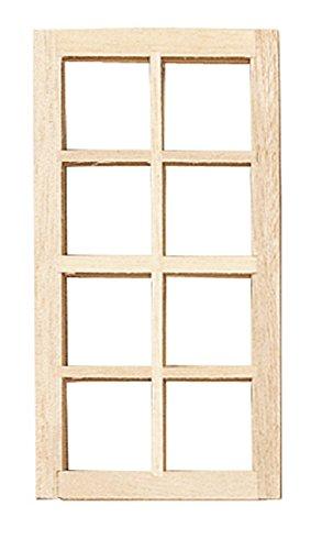 Houseworks, Ltd. Constructeurs de Maison de Poupées Do It Yourself Pièces de Rechange 1:12 Échelle Standard en Bois Fenêtre 8 Lumière