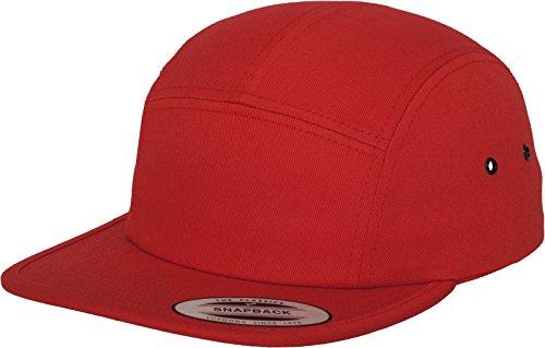 Flexfit Classic Jockey Cap, Red, one Size