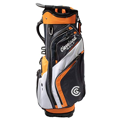 Cleveland CG Cart 2019 Friday - Golf Cart Bag CHR/ORG/WH