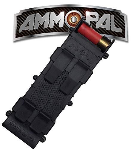 AmmoPal 3F-8RG7-4SOU Calibre 12 Cartuchos de Escopeta Dispensador - Negro