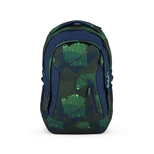 SATCH BACKPACK Zainetto per bambini, 45 cm, 24 liters, Multicolore (Blue Grids)