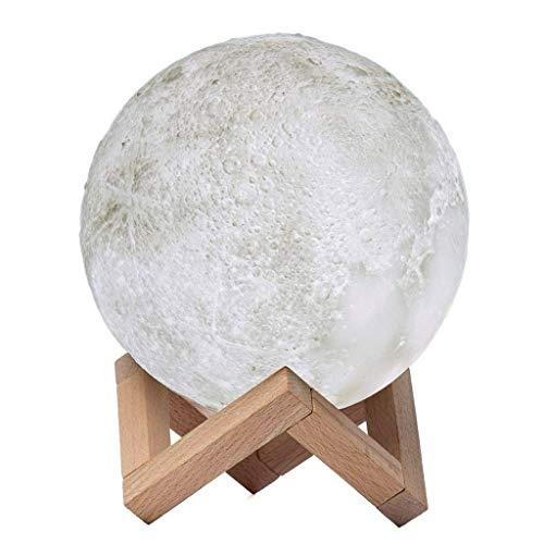 Lampe De Table Veilleuse Veilleuse Moon LED Lampe De Table Pour Chambre D'enfant Veilleuse À Distance Pour Chambre D'enfant Veilleuse USB Personnalisée Planet A+ (Size : 13x13cm)