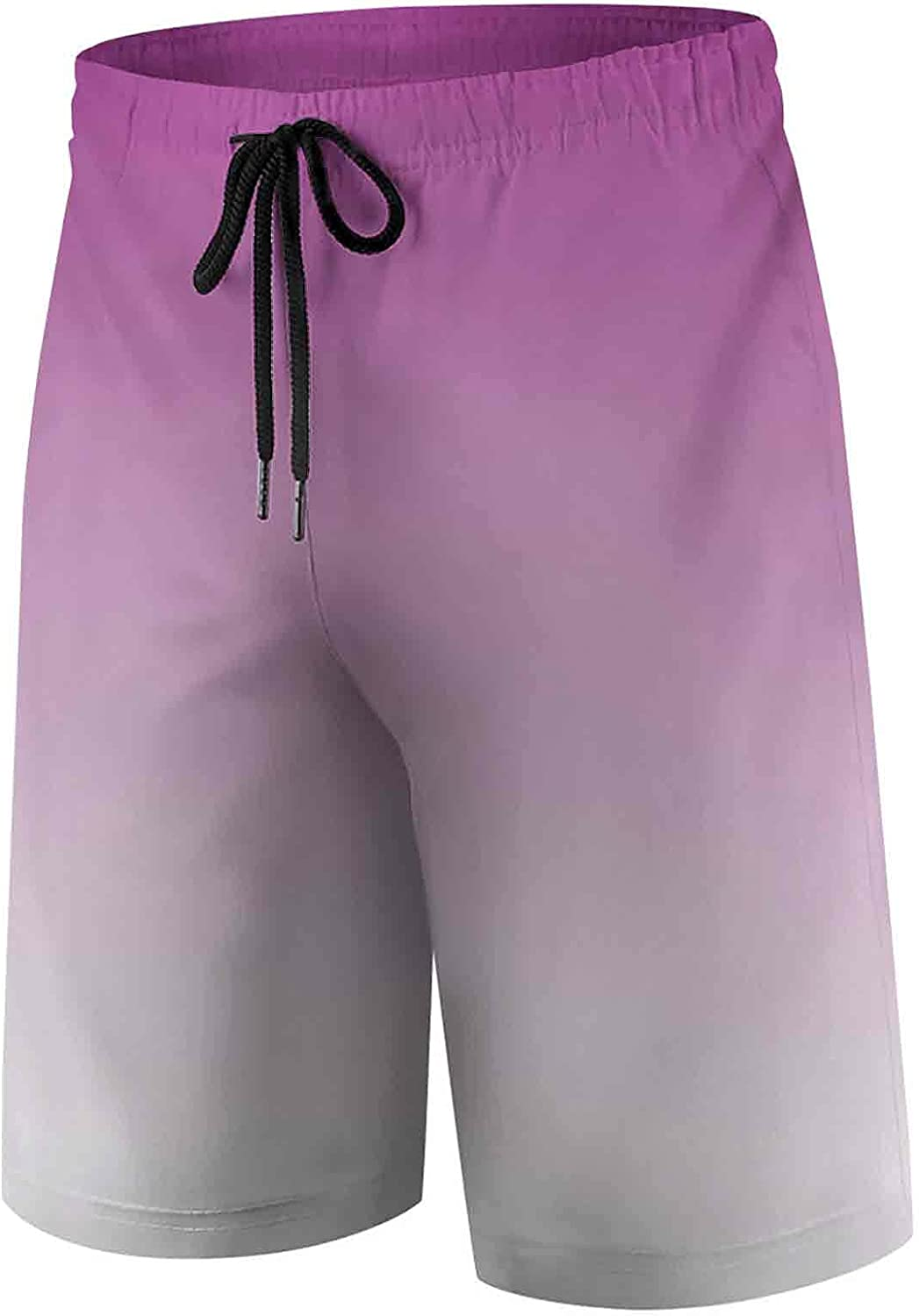 Boys' Quick Dry Beach Swim TrunkPrincess Pink Medieval Colors Inspired