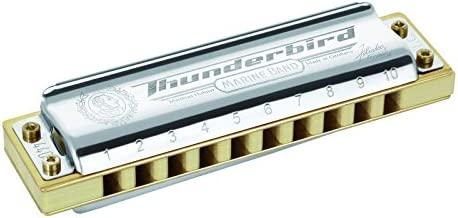 HOHNER Marine Band Thunderbird Harmonica - Key Of Low E