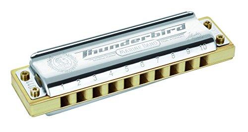 Armónica Hohner Marine Band Thunderbird, clave de A baja