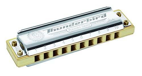 Hohner Marine Band Thunderbird Armónica – Clave de bajo F