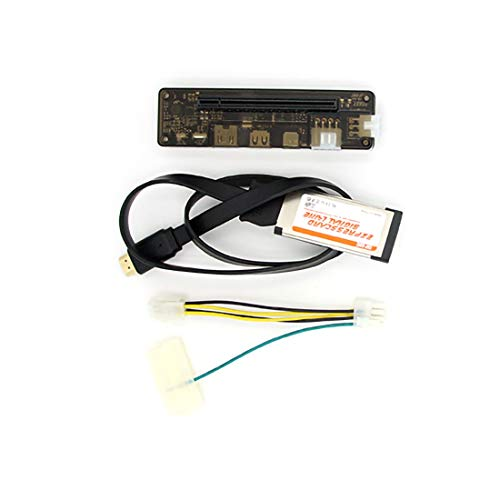 JMT EXP GDC Notebook External PCI-E Discrete Graphics Beast Series External Laptop Docking Station Mini PCI-E/M.2 A Key No Power (Expresscard)