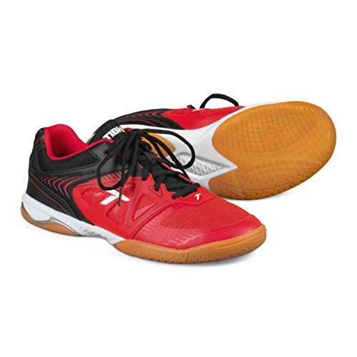 Tibhar Schuh Nova Motion Light + 1 Paar Socken gratis Optionen 43, schwarz/rot