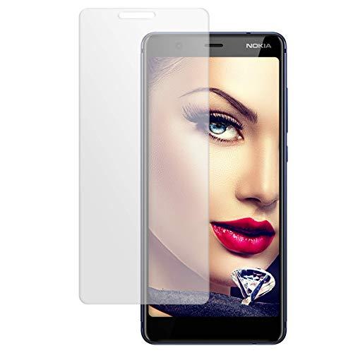 mtb more energy® Schutzglas für Nokia 5.1 (5.5'') - Tempered Glass Bildschirm Schutzfolie Glasfolie