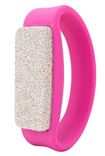 Upper Canada Soap Pumice Stone with Ergonomic Handle, Pink