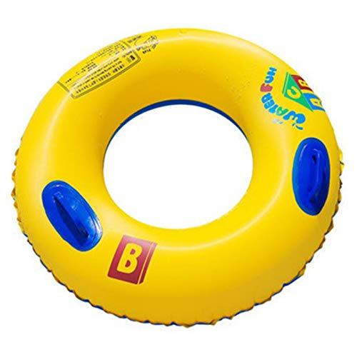 Anillo de Natación con Asa Anillo de Natación para Niños Adolescentes Natación Círculo Flotante Juegos Anillo Natación Tubos Inflables Juguetes de Agua Natación Fiesta Juguetes Deporte al Aire Libre