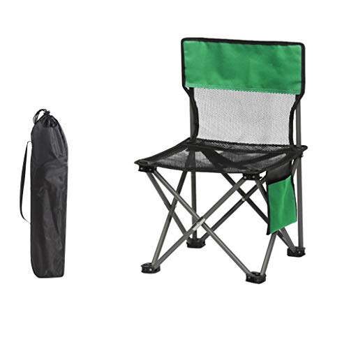 carol -1 Campingstuhl, Klappbar, Klappstuhl mit Hoher Rückenlehne, mit Flaschenhalter und Tasche, Komfortabel, Robustes Gestell, Outdoor Stuhl Angler Angelstuhl Strandstuhl