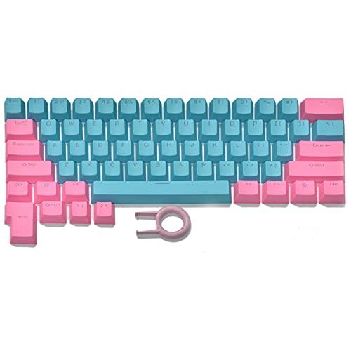 Tomuku PBT keycaps 60{984b389a59b635c8d317dcafcfdbc32128ccc7dc040c3bd4c2e16c7764ec13de} Tastenkappen für Gaming Tastatur 61 Keycaps für mechanische optische Tastaturen Hintergrundbeleuchtungskompatibilität, MX Switches ANSI Layout OEM Profi