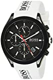 Hugo Boss Contemporary Sport Black 44 mm Dial Quartz Watch with Rubber Band for Men boss glass May, 2021