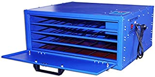 110V 800W 4 Layers Screen Printing Drying Cabinet Exposure Size 25 x 23in Screen Press Warming Machine- US Stock