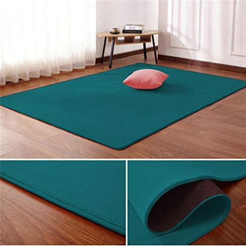 Nordic koraal fluwelen tapijt woonkamer vloermat slaapkamer antislip deken woonkamer tapijt slaapkamer nachtkastje rechthoekige vloer pad, 6.160 cm x 230 cm