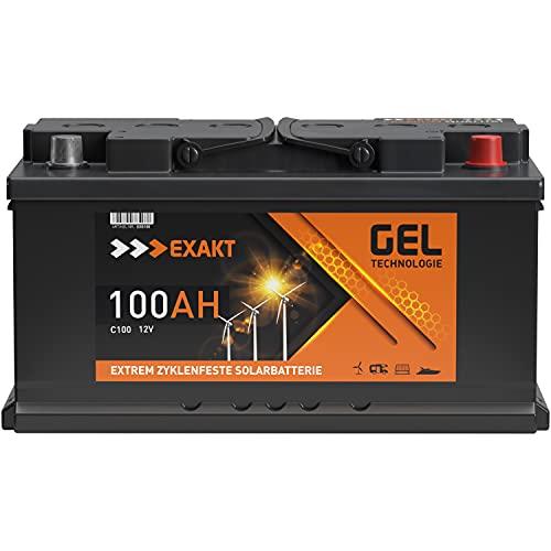 GEL Batterie Solar Wohnmobil Boot Versorgungsbatterie Akku 70Ah -...