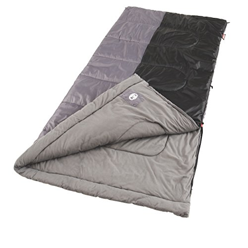 Coleman Saco de Dormir Biscayne, Big And Tall 39″ x 81″, Gris