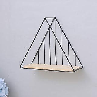 Luckyw Modern minimalistisk kreativ badrumsväggmontering, dekorationshylla – dekorationshylla, modern minimalistisk