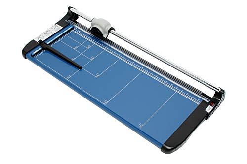 Dahle 554 Papierschneider (Bis DIN A2, 20 Blatt Schneidleistung) blau