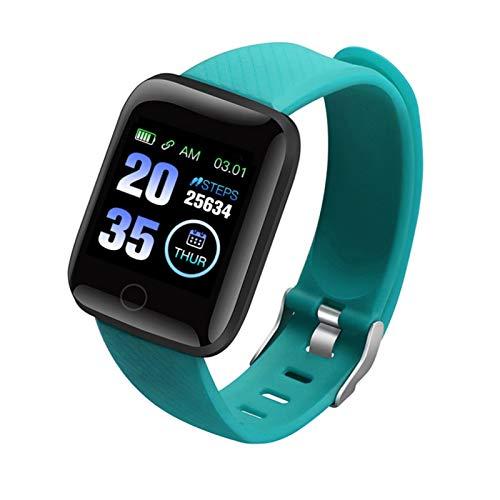XFF 1.33' Bluetooth Smart Watch, Pulsera Actividad Impermeable IP67, Reloj Inteligente con Oxígeno Sanguíneo Presión Arterial Frecuencia Cardíaca, para Hombre Mujer/Android iOS