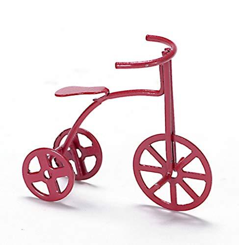Melody Jane Casa Muñecas Juguete Infantil Miniatura Tienda Accesorio Niños Triciclo Bicicleta Rojo 6020