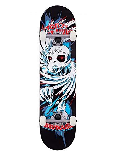 Birdhouse Schwarz Hawk Spiral - 7.75 Inch Skateboard Komplett (One Size, Schwarz)