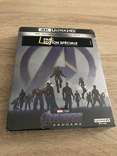 Avengers Endgame Steelbook Fnac 4k
