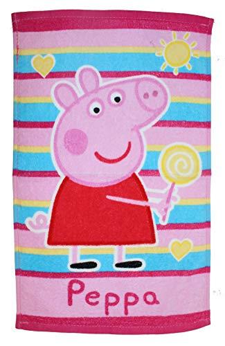 Peppa Pig PP182059 - Toalla infantil (30 x 50 cm), diseño de Peppa Pig