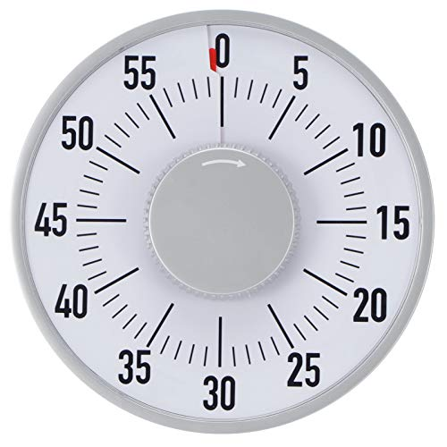 Oumefar Genauer mechanischer Alarm-Timer Back-Timer Für den Unterricht im Klassenzimmer ist Keine Batterie erforderlich