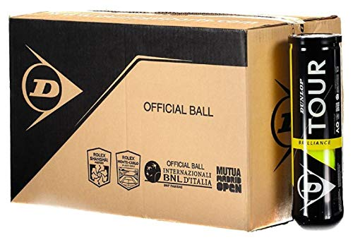Dunlop Palline da tennis Tour Brilliance Box 18 x 4 balls